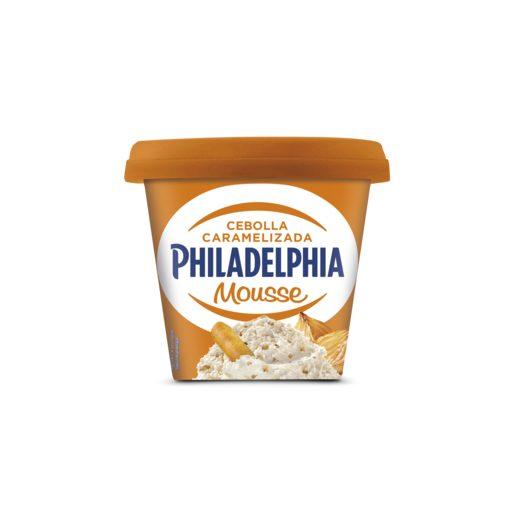 PHILADELPHIA mousse de queso cebolla caramelizada tarrina 130 gr