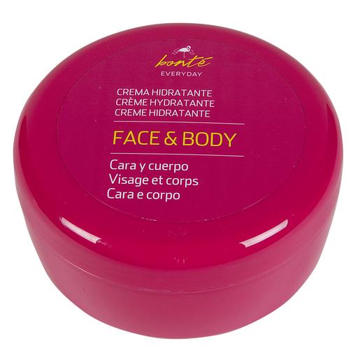 BONTE crema hidratante para cara y cuerpo tarro 250ml