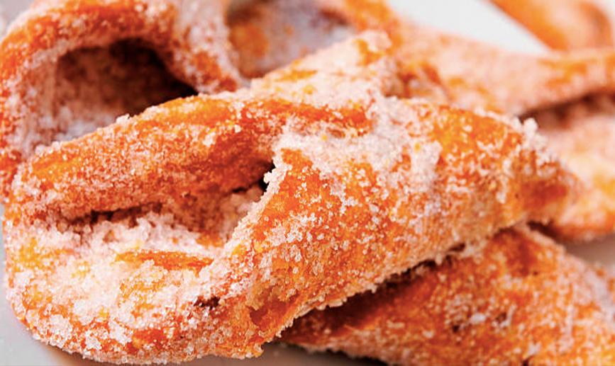 Descubre esta receta de pestiños de naranja