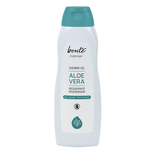 BONTE gel de ducha aloe vera regenerante piel normal bote 750 ml