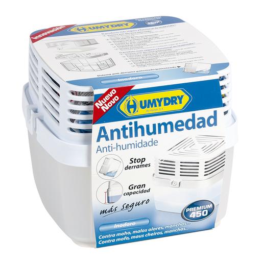 HUMYDRY Premium 450 ambientador antihumedad aparato + recambio 1 ud