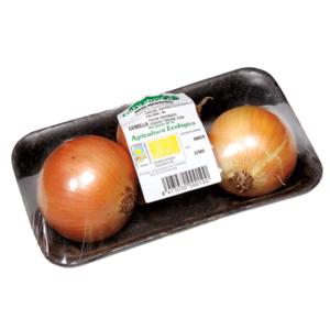 Cebolla bio bandeja 700 gr