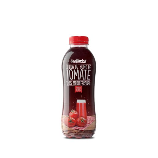 Zumo de tomate natural botella 600 ml