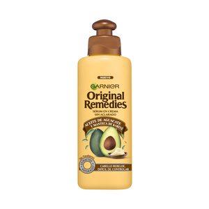 ORIGINAL REMEDIES serum en crema con aguacate y karité sin aclarado bote 100 ml