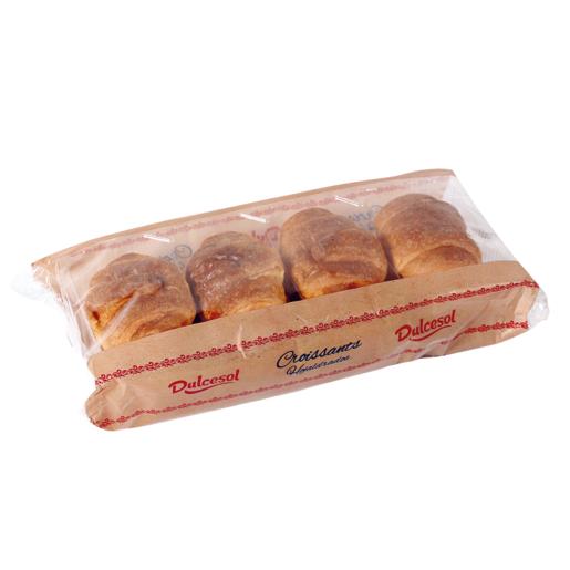 DULCESOL croissants hojaldrados bolsa 252 gr