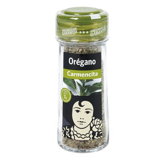CARMENCITA orégano frasco 7 gr