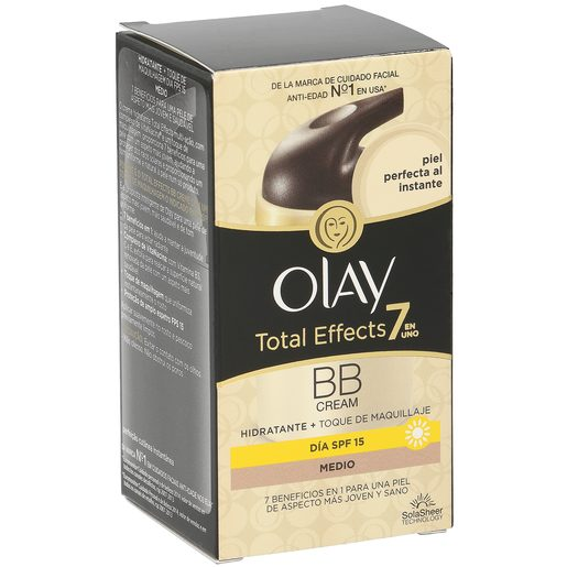 OLAY Total effects 7 en 1 crema hidratante tono medio caja 50 ml