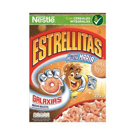 NESTLE cereales estrellitas sabor galleta caja 270 gr