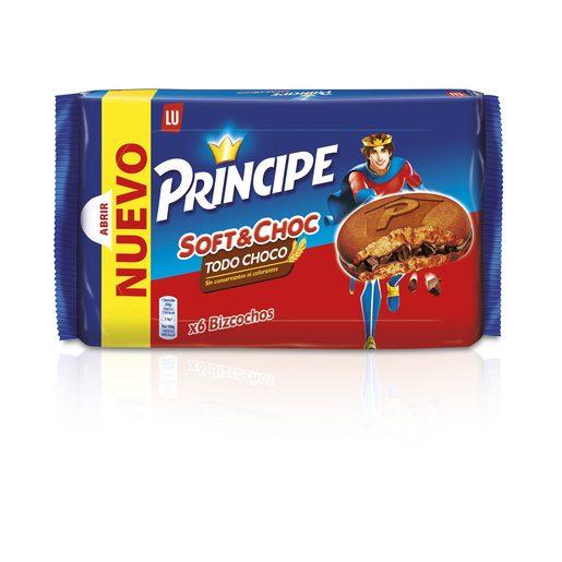 LU PRINCIPE tiernas sabor todo chocolate paquete 180 gr
