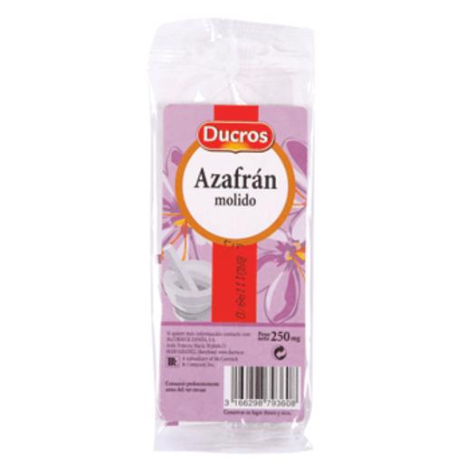 DUCROS azafrán molido bolsa 0,25 gr