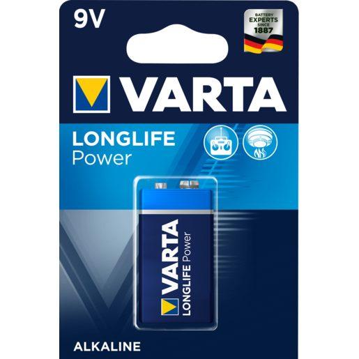 VARTA High energy pila alcalina 6LR61 blíster 1 ud
