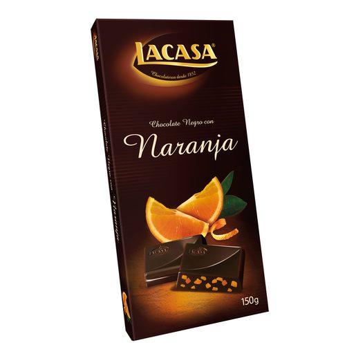 LACASA chocolate con naranja tableta 150 gr
