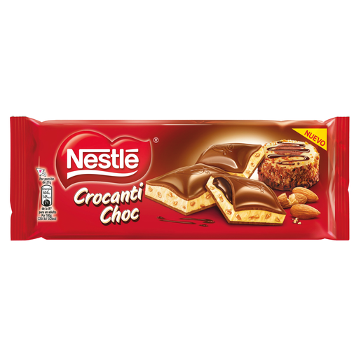 NESTLE chocolate crocanti choc tableta 240 gr