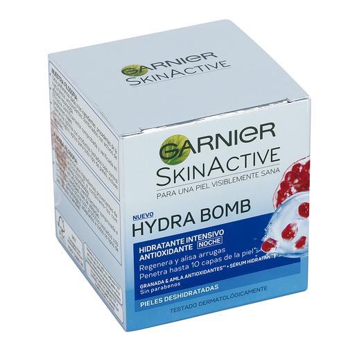 GARNIER Hidra bomb crema de noche super hidratante antioxidante caja 50 ml