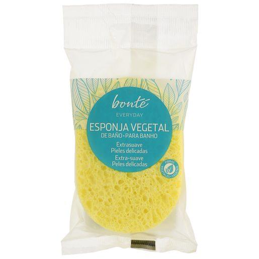 BONTE esponja de baño vegetal bolsa 1 ud