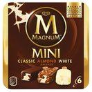 MAGNUM helado mini bombón mix caja 6 uds 300 gr