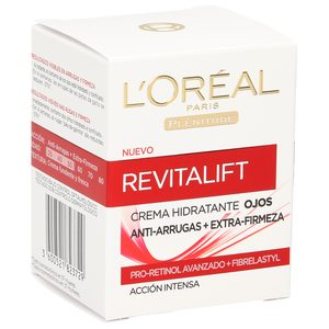 L'OREAL Revitalift crema de ojos antiarrugas acción intensa tarro 15 ml