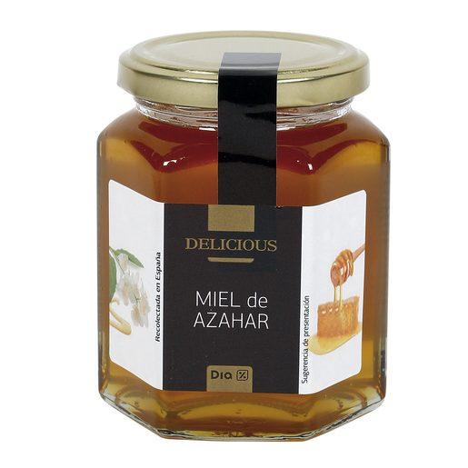 DIA DELICIOUS miel de azahar frasco 350 gr