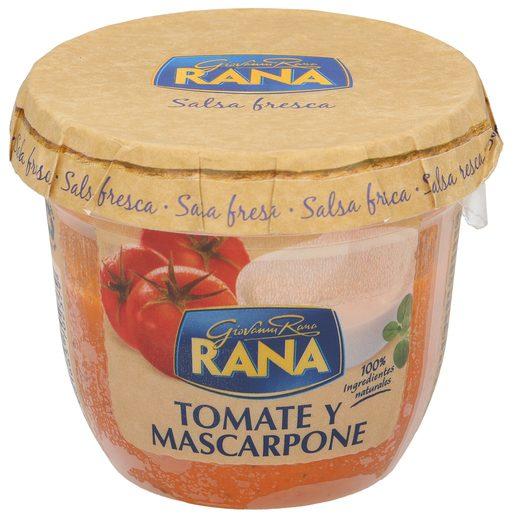 RANA salsa de tomate y mascarpone frasco 180 gr