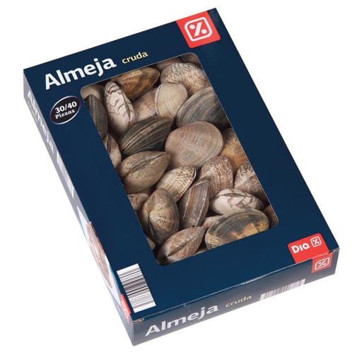 DIA almejas crudas caja 500 gr