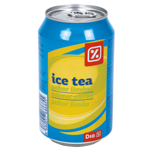 DIA refresco de té al limón lata 33 cl