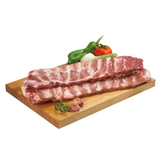 Tira de costilla de cerdo fresca (peso aprox. 1.5 Kg)