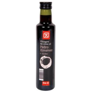 DIA vinagre de vino al pedro ximenez botella 250 ml