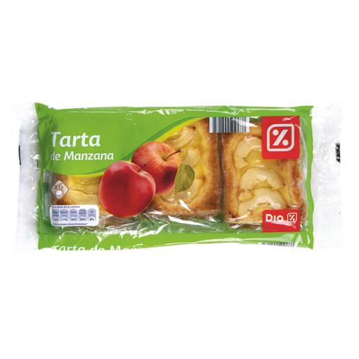 DIA tarta de manzana paquete 6 x 65 gr