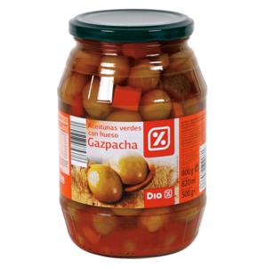 DIA aceitunas verdes gazpacha con hueso frasco 500 gr