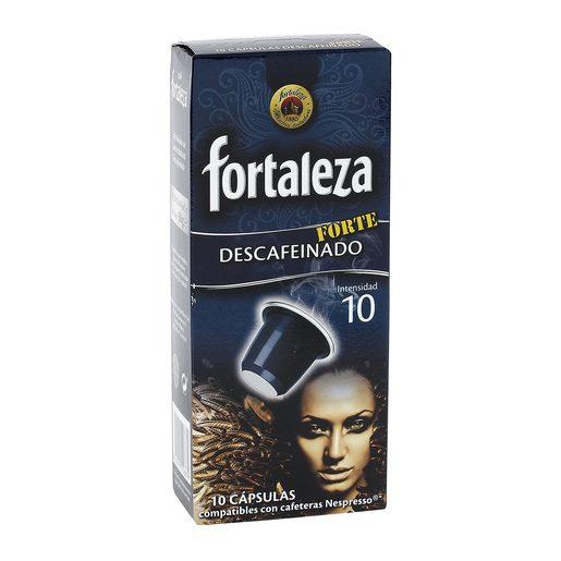 FORTALEZA café descafeinado forte caja 10 cápsulas