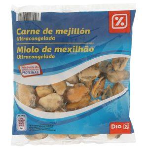 DIA carne de mejillón bolsa 250 gr
