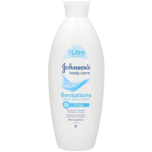 JOHNSON´S Body care gel de ducha sensations energy bote 1 lt