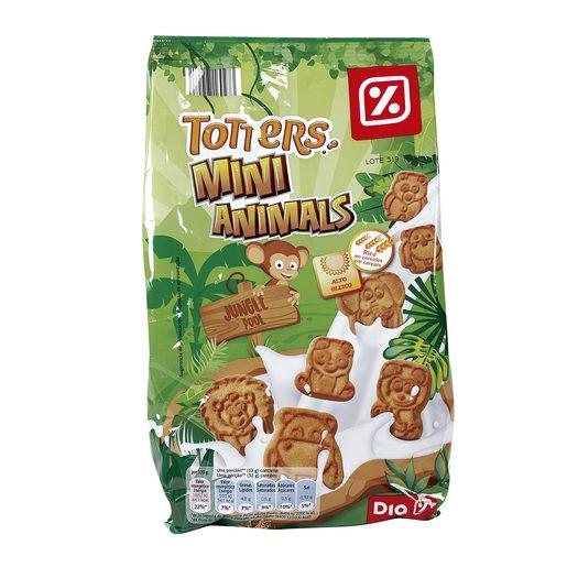 DIA mini galletas animals bolsa 350 gr