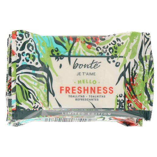 BONTE toallitas refrescantes hello freshness pack 3 x 10 uds