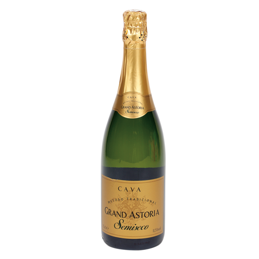 GRAND ASTORIA cava semiseco botella 75 cl