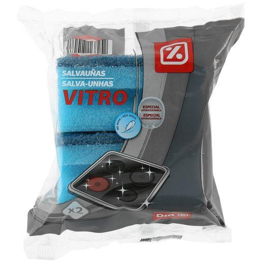 DIA estropajo salvauñas vitro no raya paquete 2 uds