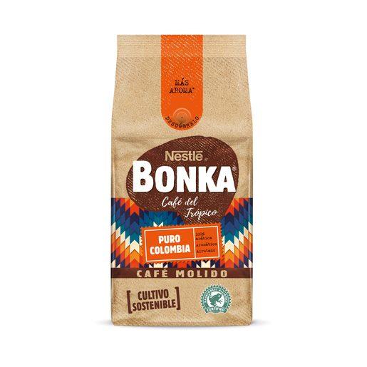 BONKA café molido puro colombia paquete 220 gr