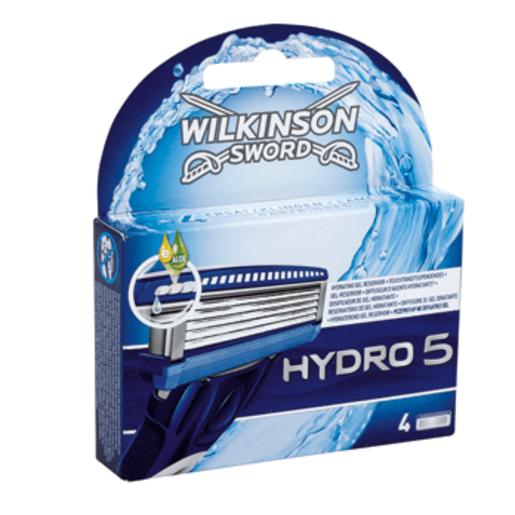 WILKINSON maquinilla hoja cargador hydro 5 paquete 4 ud