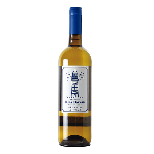 VIÑAS BALCIS vino blanco Do Rias Baixas botella 75 cl