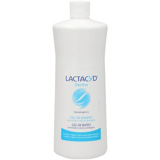 LACTACYD gel de ducha con ácido láctico piel sensible bote 1 lt