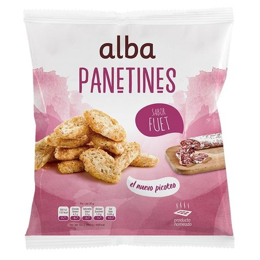 ALBA panatines sabor fuet bolsa 90 gr