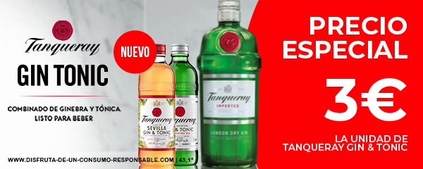 Oferta Tanqueray en dia.es