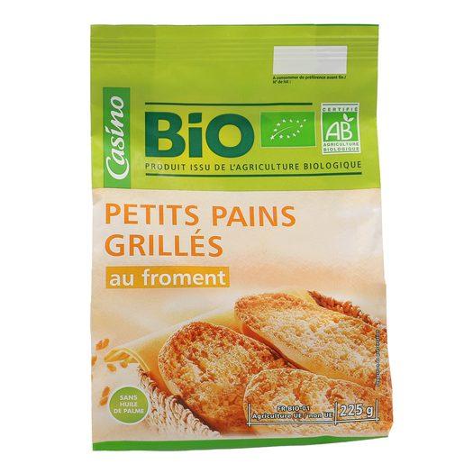 CASINO BIO panecillos tostados paquete 225 gr