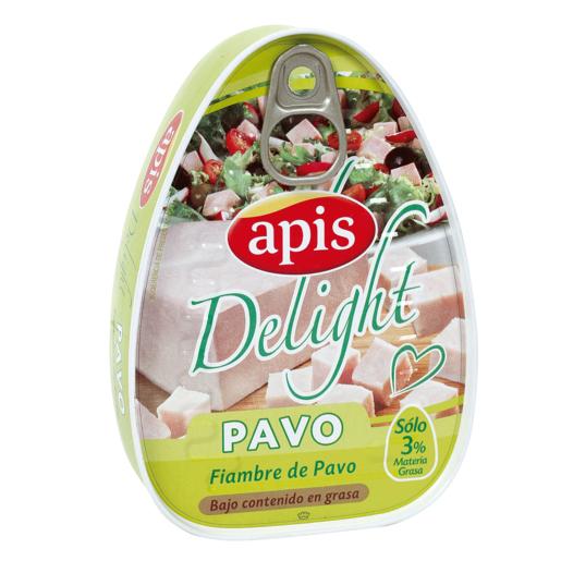 APIS Delight fiambre de pavo bajo en grasa lata 220 gr