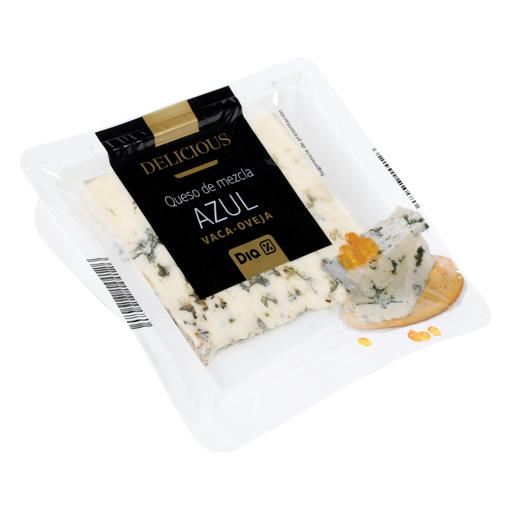 DIA DELICIOUS queso azul mezcla azul envase 100 gr