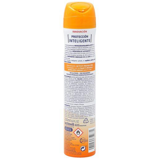 LACTOVIT desodorante protector activit spray 200 ml