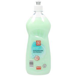 DIA lavavajillas mano concentrado aloe bamboo botella 1 lt