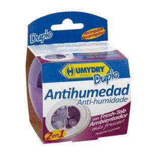 HUMYDRY ambientador antihumedad 2en1 aroma lavanda aparato + recambio 1 ud