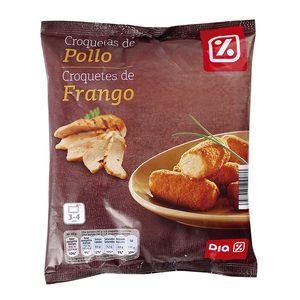 DIA croquetas de pollo bolsa 500 gr