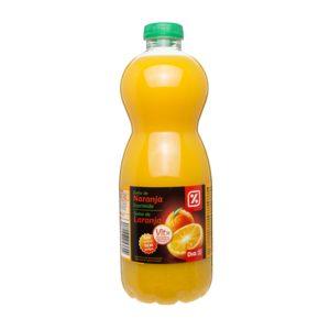 DIA zumo naranja 100% exprimido sin pulpa botella 1 lt